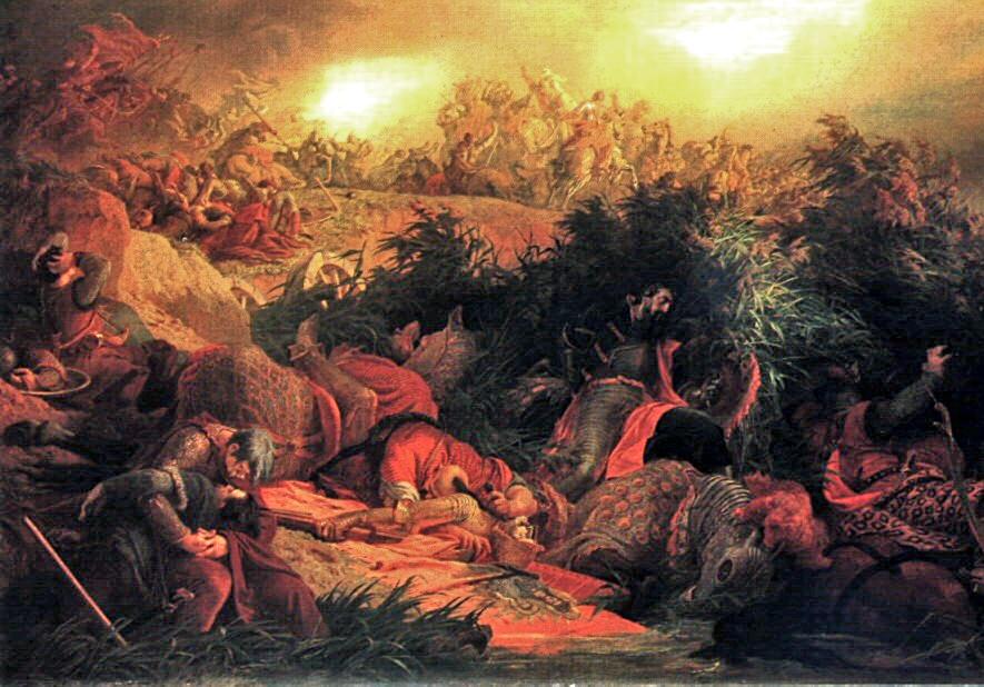 Battle_of_Mohacs_1526 Bertsalan Székely Mohaéka bitka